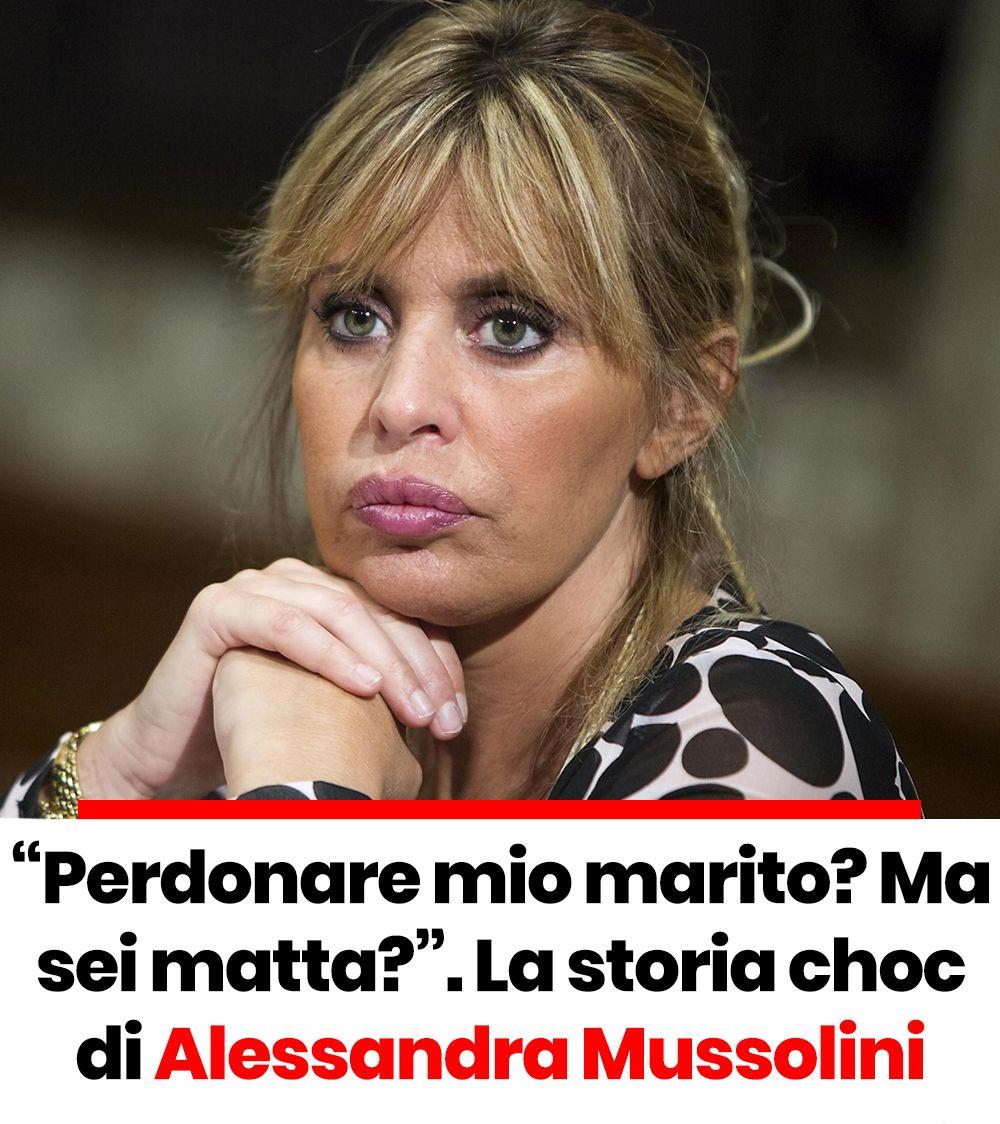 La Storia Choc Di Alessandra Mussolini