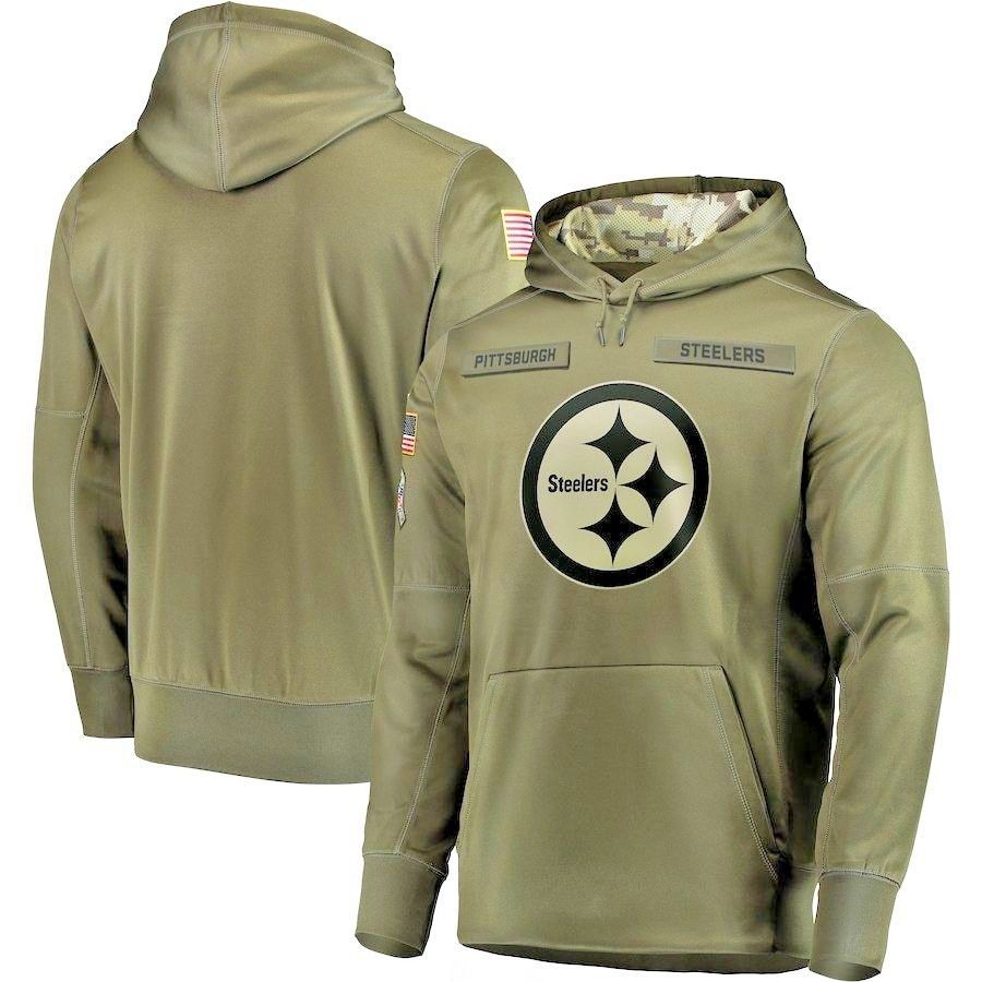 4882a8c5b Pittsburgh Steelers 2018 Salute to Service Sideline Performance Pullover  Hoodie #PittsburghSteelers #PittsburghSteelers