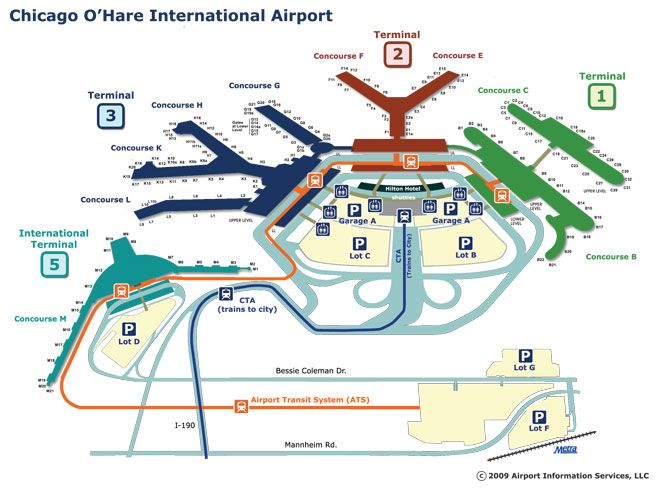 o hare terminal map chicago o hare international airport ord