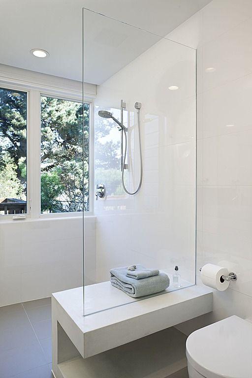 Cloison Vitree Dans Une Salle De Bain Design Deco Decoration Salledebain Bain Douche Modern Master Bathroom Bathroom Inspiration Bathroom Design
