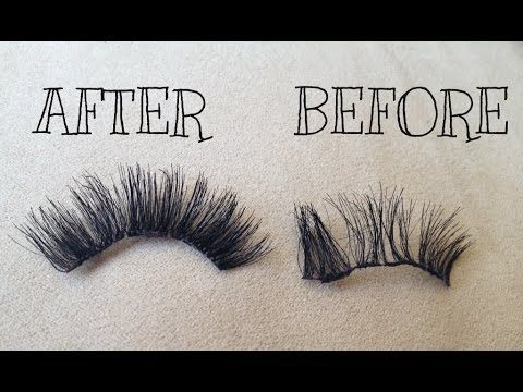 6617e1e6e83 HOW TO REPAIR AND STACK FALSE LASHES - SONJDRADELUXE ♥ | MAKE UP ...