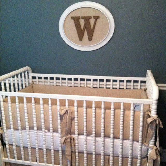 Above crib, Henry or V @Bonnie S. Little