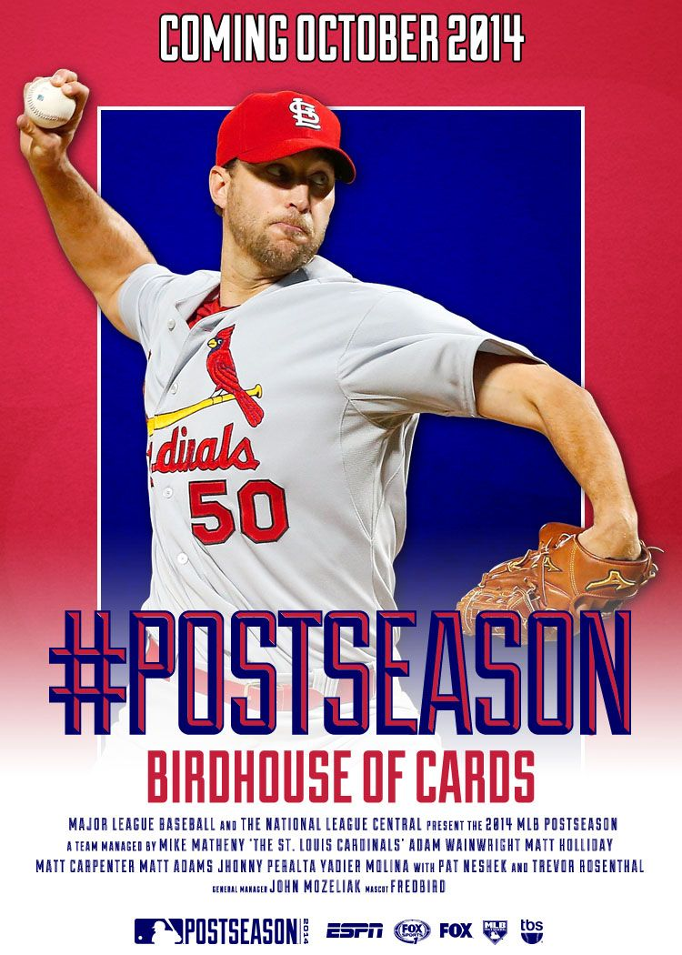 For The 5th Time In 6 Years The St Louis Cardinals Will Play Postseason Baseball Stl Cardinals St Louis Baseball St Louis Cardinals