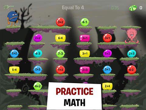 Do You Remember The Old School Nintendo App Q Bert Monster Math Fun Math Game For Grades 2 5 Remi Fun Math Games Monster Math Math Games For Kids