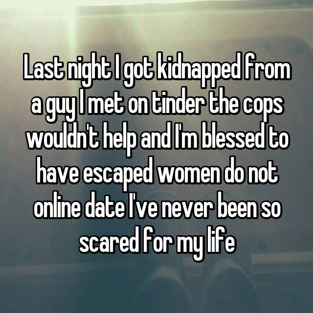 Scary stories that are true online dating