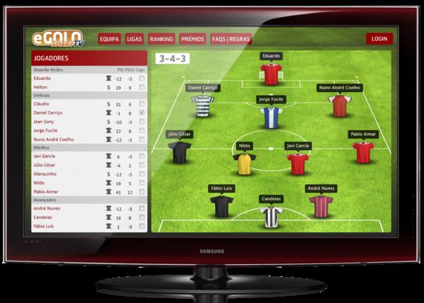 eGolo Soccer Manager Apps for Samsung Smart TV on Behance