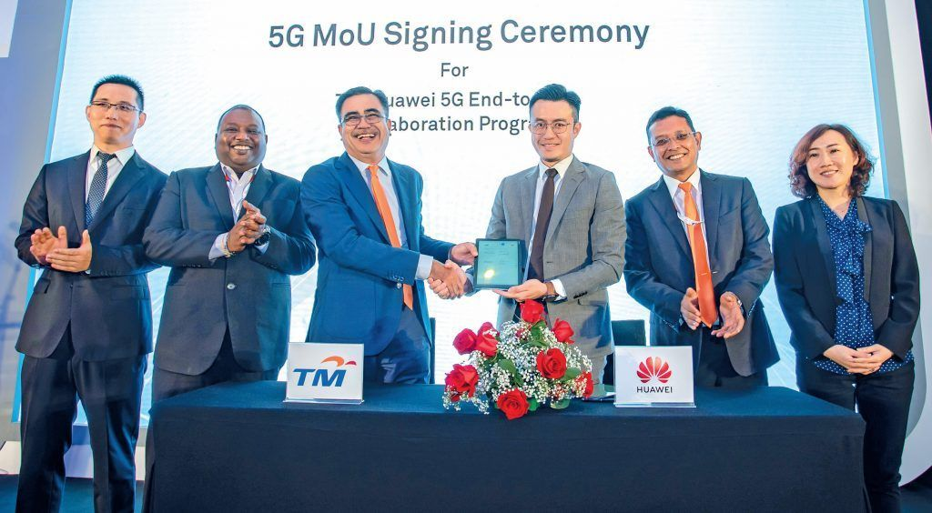 TM and Huawei collaborate to accelerate 5G