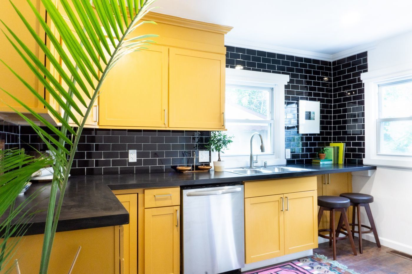 Snag This Adorable Revived Cottage In Detroit For Less Than 70k Modern Homes For Sale Modern Kitchen Kitchen