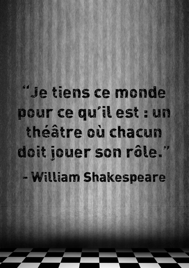 William Shakespeare Citation Proverbes Et Citations Poeme Et Citation