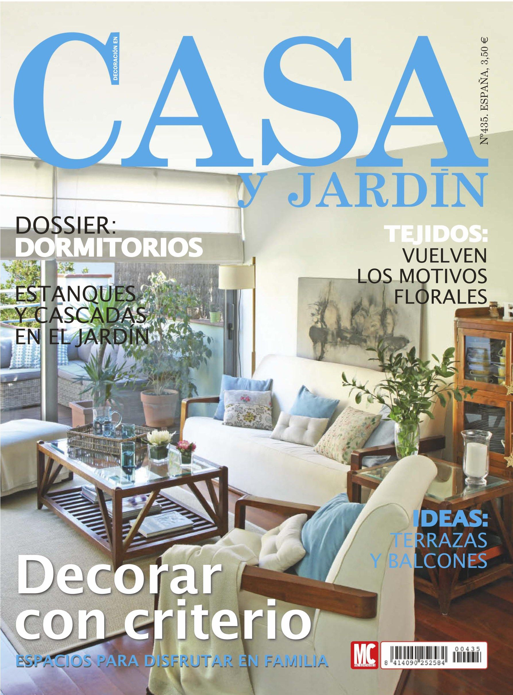 Revista casa y jardin 435 decorar con criterio for Casa jardin revista