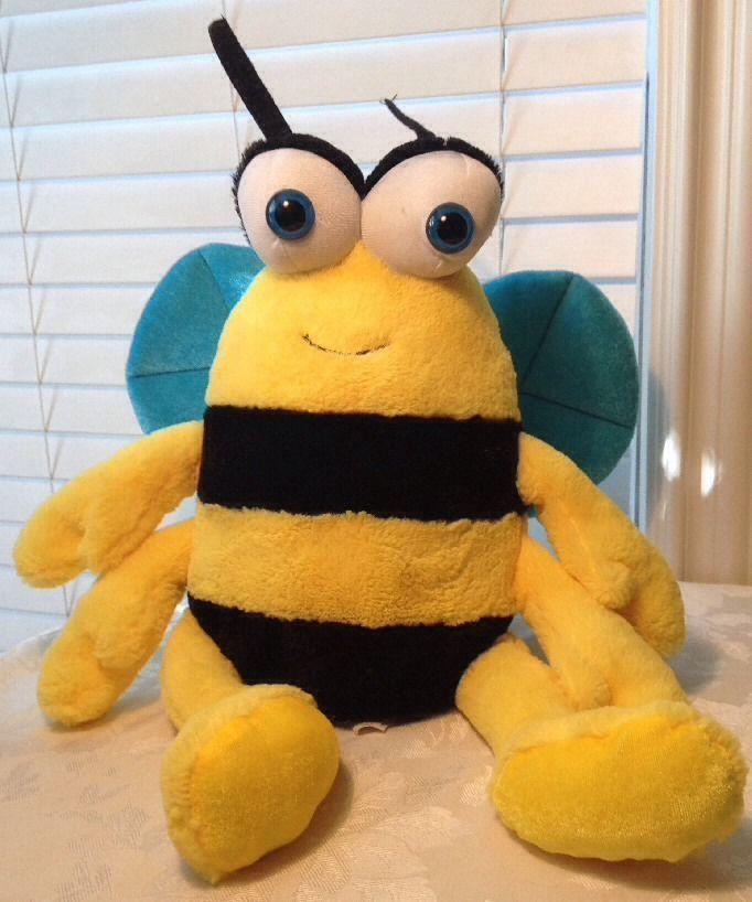 17 Toy Large Soft Plush Bumble Bee Bumblebee Stuffed Big Google