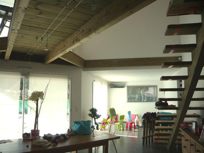 passerelle sweet home architecture pinterest passerelle rampes et salon. Black Bedroom Furniture Sets. Home Design Ideas