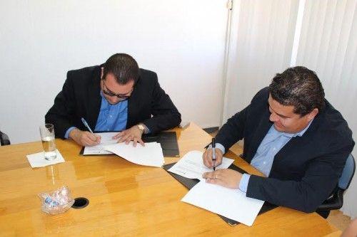 El Rector de la UABCS y el Director del Instituto Sudcaliforniano de Cultura firmaron convenio colaboración