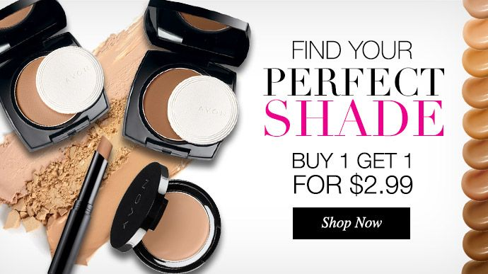 Find your perfect shade @ www.youravon.com/timelessbeauty4u #foundation #makeup #buyonegetone #jxn #ms #avon #face #match
