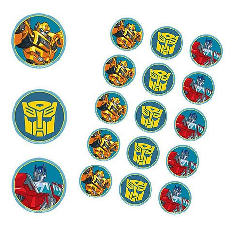 Transformers party supplies online shop 24-7 Australia. Transformers Giant Wall decorations $11.95 Transformer birthday candle $9.95 set 4, Transformers banners