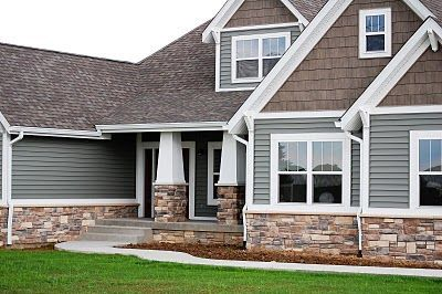Modern Exterior Design Ideas Stone Siding Stone And House