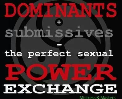 Sexual power exchange