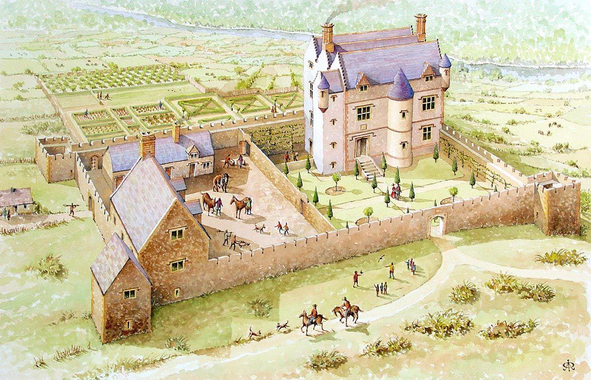 картинки средневековья домашних