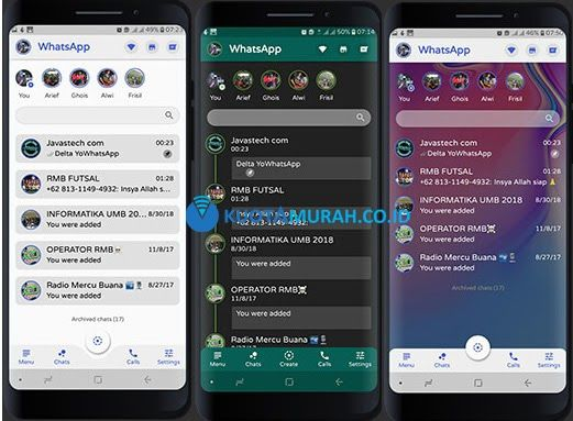 Download Whatsapp Mod Apk Indonesia di 2020 (Dengan gambar