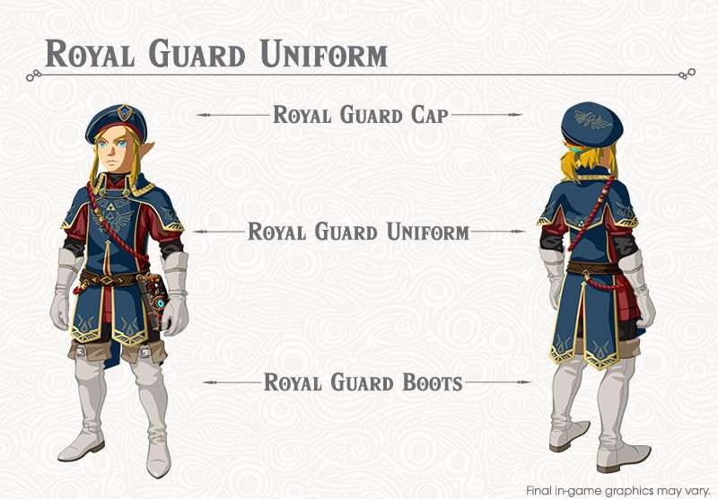 Zelda: Breath of the Wild - Where To Find Royal Guard Uniform