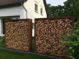 Image Result For Unearthed Firewood Holder Brennholz Schuppen Holzlager Dekorative Gartenzaune