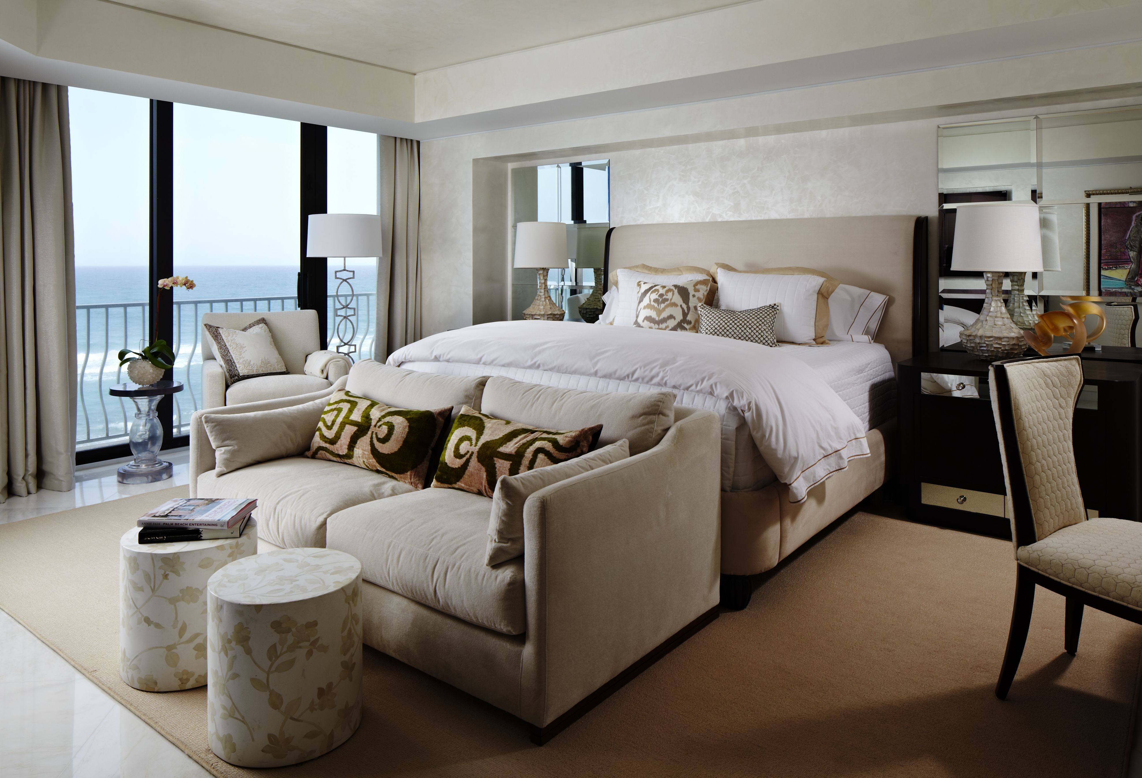 Palm Beach Bedroom Cindy Ray Interiors, Inc. (With