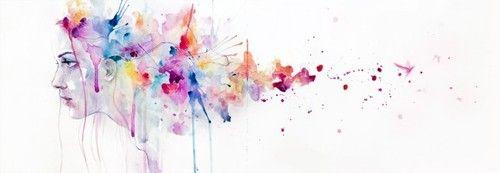 watercolor; digital art