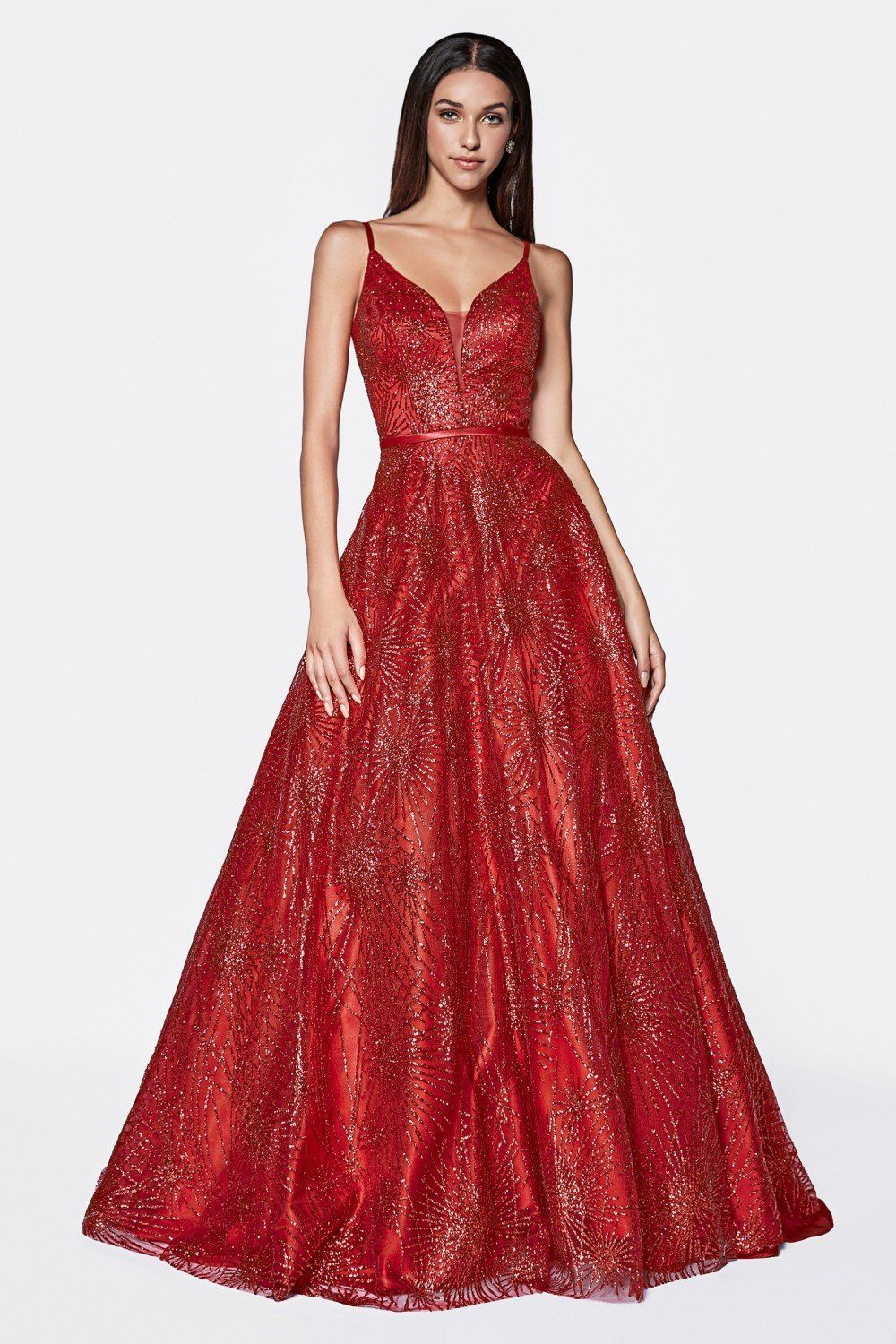 b56c27a50aba Pin by Maria's Bridal Connection - Prom on Nox Anabel | Pinterest | Long  mermaid dress, Mermaid dresses and V neck dress