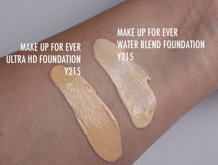 New Make Up For Ever Water Blend Face Body Foundation Kelsey Smith Body Foundation Make Up For Ever Face And Body