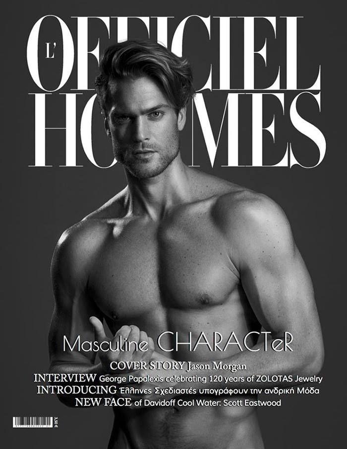 Jason Morgan en portada de L'Officiel Hommes Fall/Winter 2015 | Male Fashion Trends