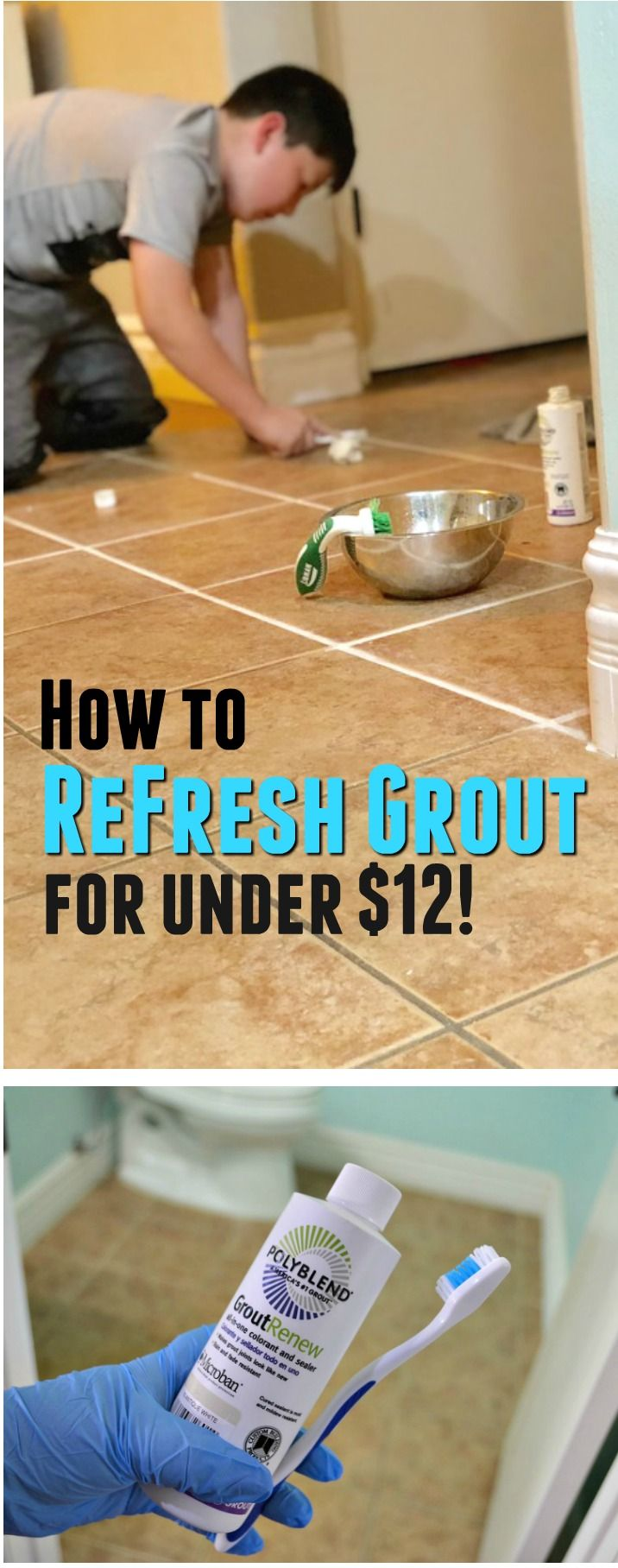 Got dingy grout hereus how to refresh your tile grout for under