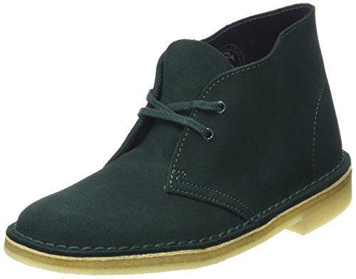 Clarks Originals Desert, Damen Desert Boots, Blau (Dark Navy Suede), 39 EU (5.5 Damen UK)