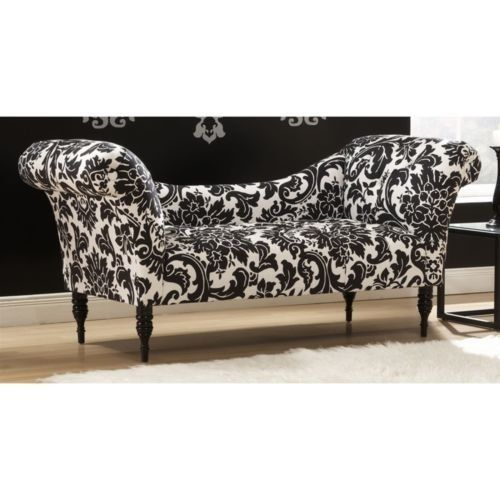 Fiorenza Settee Chaise Lounge Chair By Skyline Furniture