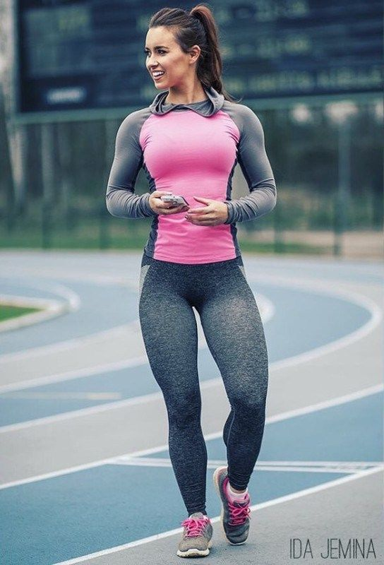 Ass jogging spandex