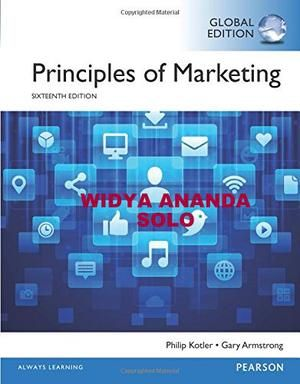 Principles of marketing 16 ed global edition book pinterest principles of marketing 16 ed global edition fandeluxe Choice Image
