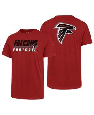 meet 77711 434b3 47 Brand Men's Atlanta Falcons Fade Back Super Rival T-Shirt ...