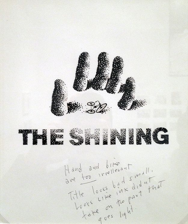 "Rejected Posters For ""The Shining"" - including comments on why they're still not right."