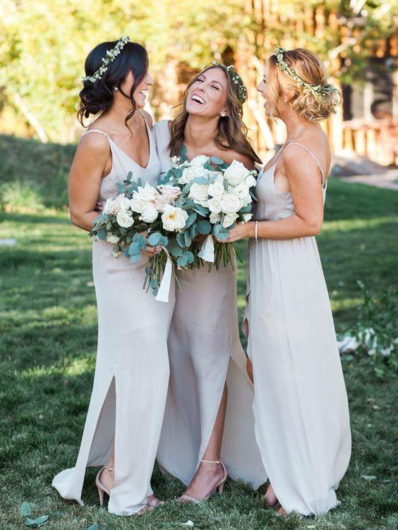 Dress Wedding Formal Summer Bridesmaid Beach