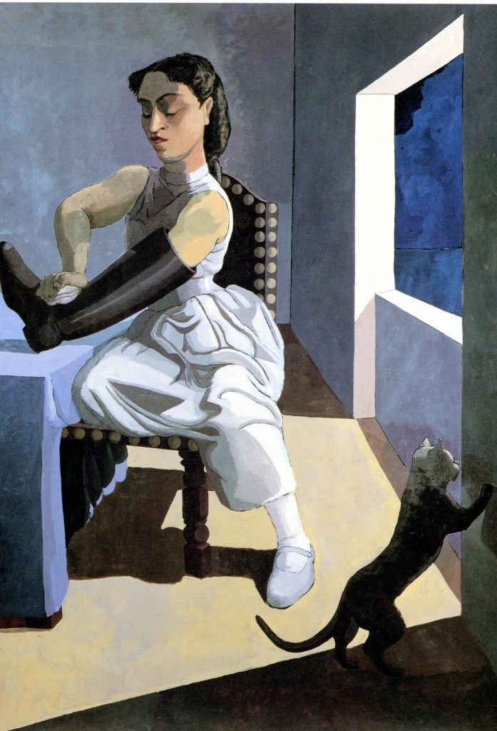 The Policeman's Daughter by Paula Rego