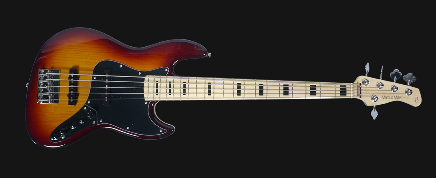 sire marcus miller v7 vintage bass guitar 5st ash tobacco sunburst color basses vintage. Black Bedroom Furniture Sets. Home Design Ideas