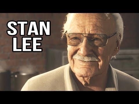 Stan Lee Cameo Spider Man Ps4 Youtube In 2020 Stan Lee Cameo Stan Lee Frank Miller Comics