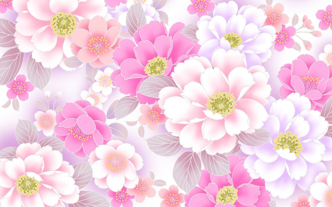 Hot Pink Borders And Frames Google Search Pink Floral