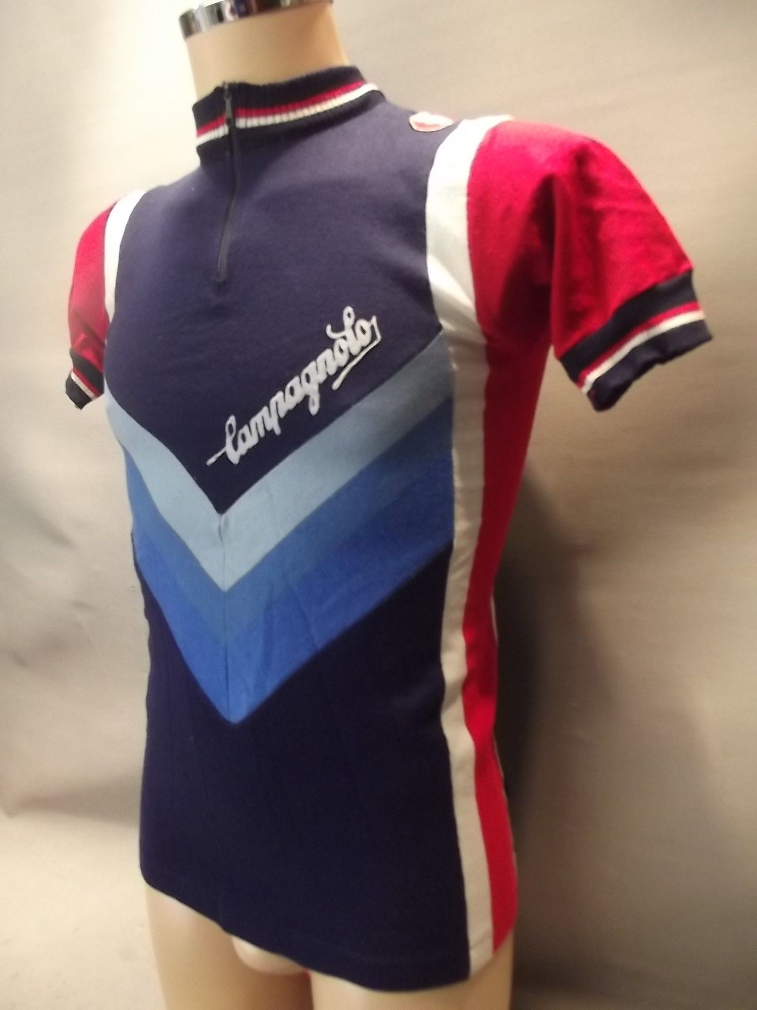 JSVSM003 Vintage Campagnolo cycling short sleeved jersey - Castelli make 1 a77b93c9f