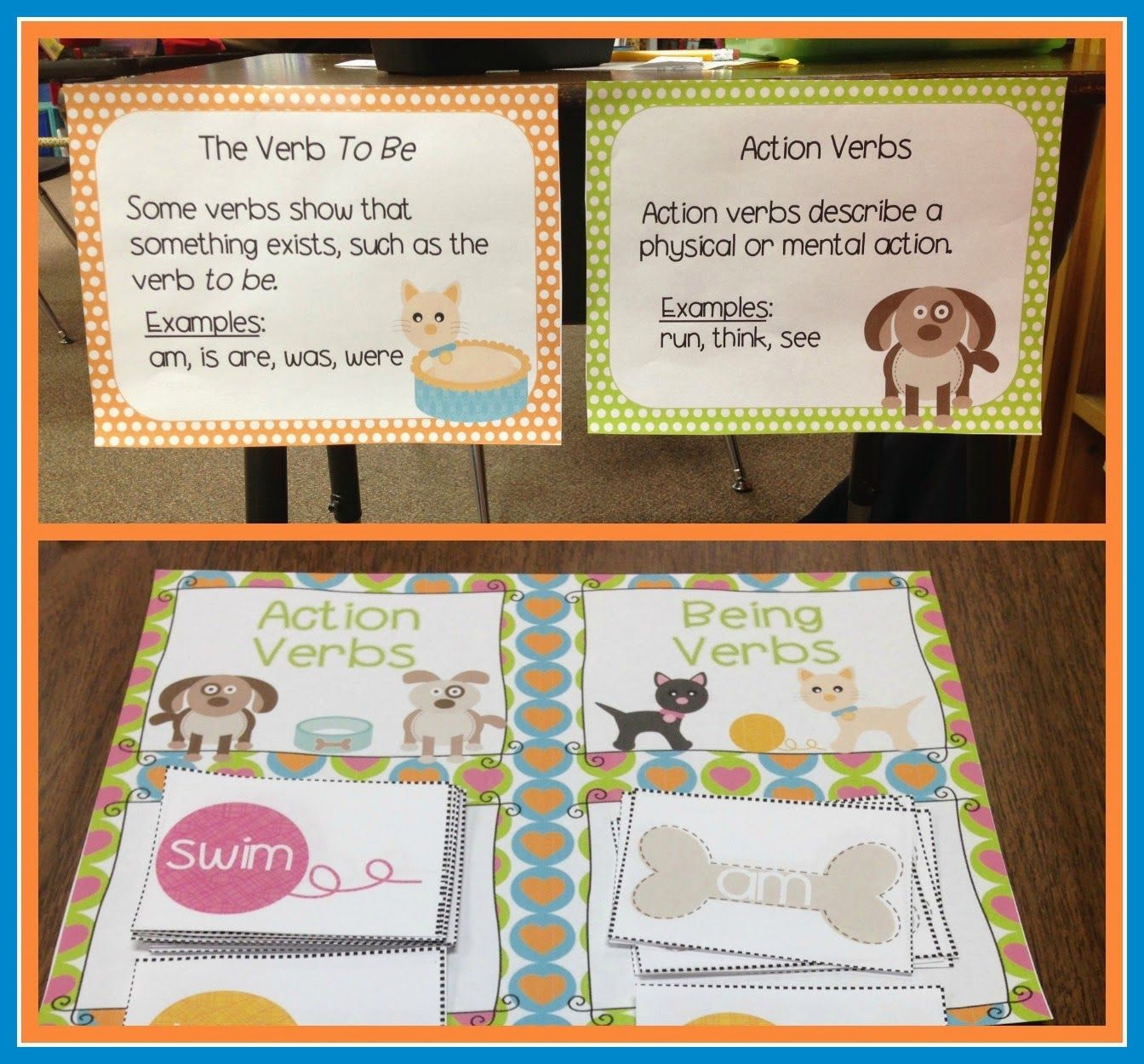 Fall Ing Prices Linky Party Week 3 Teachers Pet Teachers Teaching Verbs [ 1250 x 1344 Pixel ]