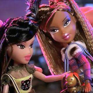 Tokyo Go Go Jade And Sasha Protypes Love Sasha S Hair Here Bratz Doll Ooak Abf