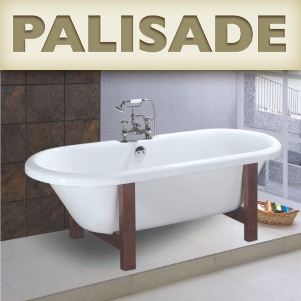 Good Palisade Wooden Cradle Acrylic Claw Foot Bathtub Critique | Reviewing Clawfoot  Tubs And Other Classic Bathtubs