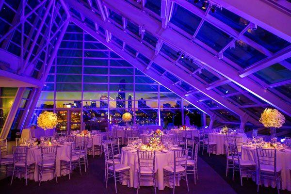 50 Unexpected Places To Tie The Knot Chicago Wedding Venues Adler Planetarium Unique Wedding Venues