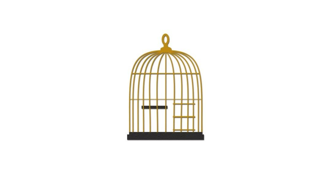 Bird Cage Illustration Vector And Png Free Download Illustration Bird Clip Art