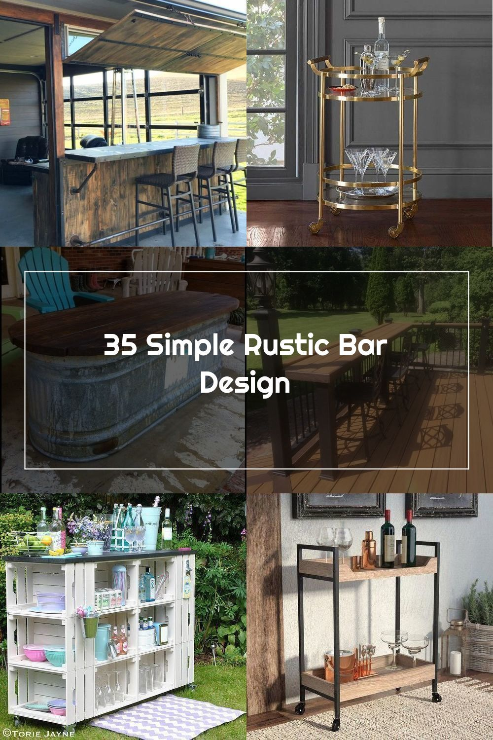 35 Simple Rustic Bar Design #homedecor #homedesignideas #homedecoraccessories