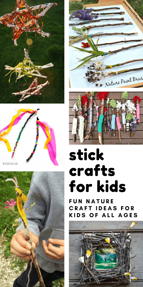 Kids of All Ages Will Enjoy Getting Back to Nature with These Twig Crafts